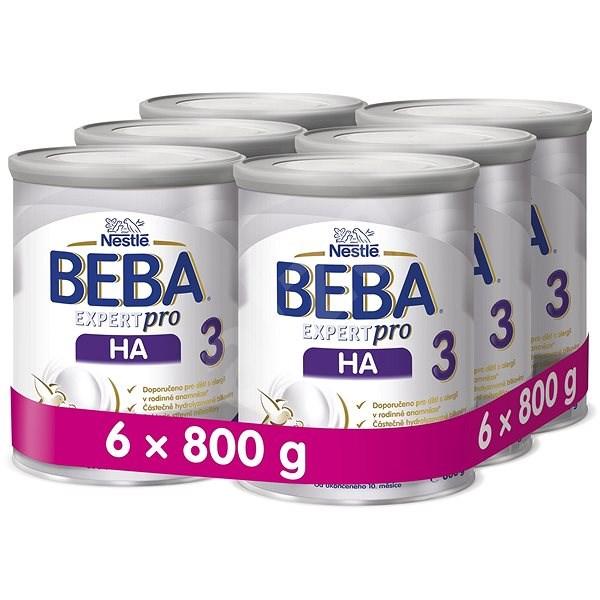 097f78073 BEBA OPTIPRO HA 3 (6× 800 g) - Dojčenské mlieko   Alza.sk
