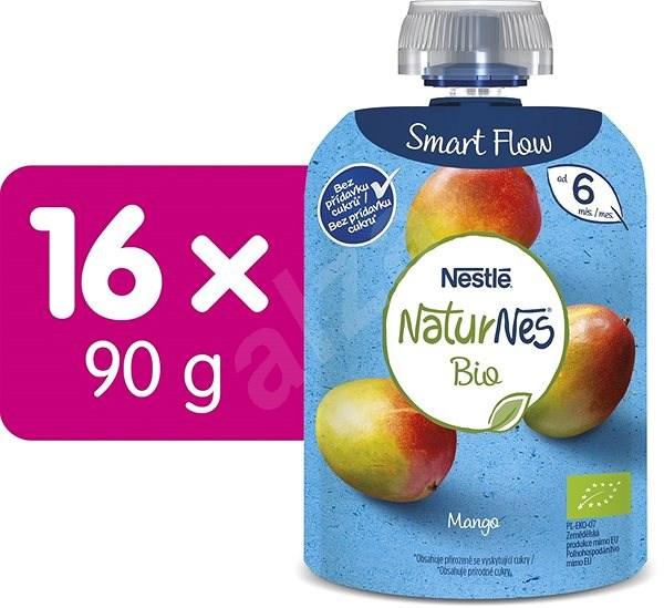 NESTLÉ NATURNES BIO Mango 16× 90 g - Príkrm