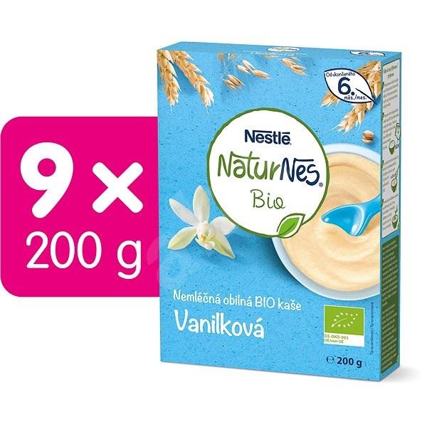 NESTLÉ BIO Vanilková nemliečna kaša 9× 200 g - Nemliečna kaša