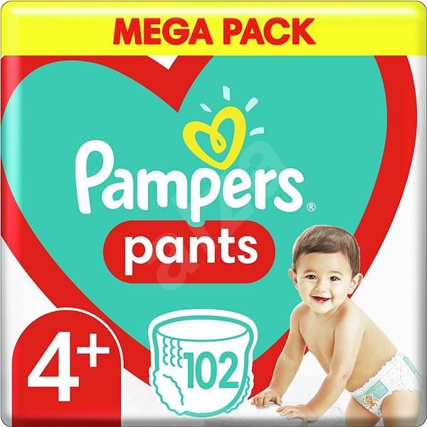 Pampers Pants Maxi+ veľ. 4+ (99 ks) – Mega Box - Plienkové nohavičky
