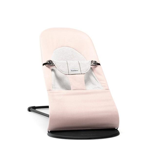 Babybjörn Balance Soft Pink/Grey - Detské ležadlo
