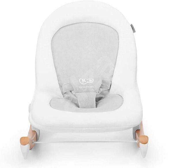 Kinderkraft Finio White 0m+ - Detské ležadlo