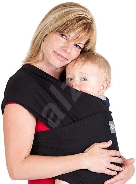 Boba Baby Carrier - Bob Wrap šatka - čierna - Šatka na nosenie detí ... 944107cd3f
