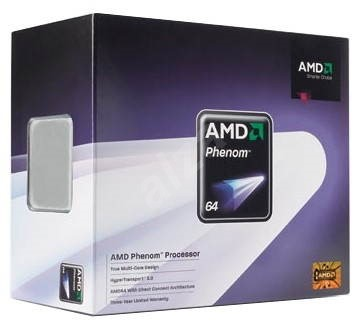 AMD Phenom 9350e X4 Quad-Core (65W), 2000MHz, BOX, socket AM2+ (Agena) - Procesor