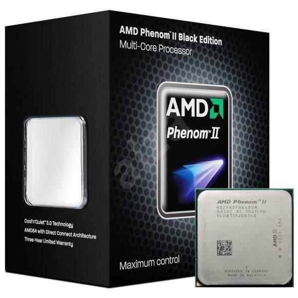 AMD Phenom II X4 980 Black Edition - Procesor