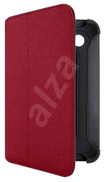 Belkin kožené červené se stojánkem - Puzdro na tablet