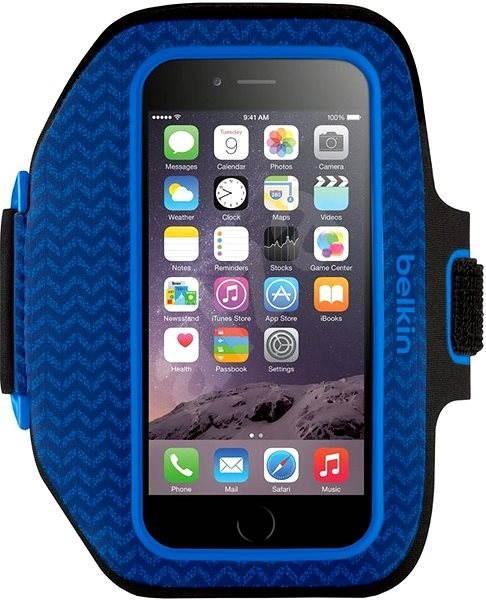 Belkin Sport-Fit Plus modré - Puzdro na mobil  16873f2d8e7