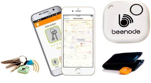 Beenode biely - Bluetooth lokalizačný čip