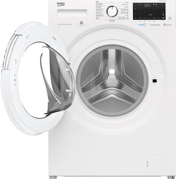 BEKO EWUE7636CSWX0W - Úzka práčka s predným plnením
