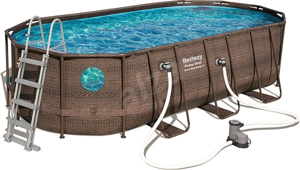 Bestway Oval Pool Set 549 M 274 M 122 M Bazén Alzask