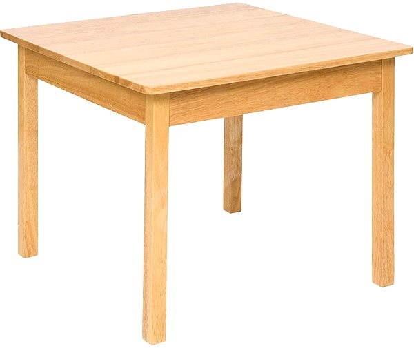 81d2f6dca611 Detský drevený stolček - Detský nábytok