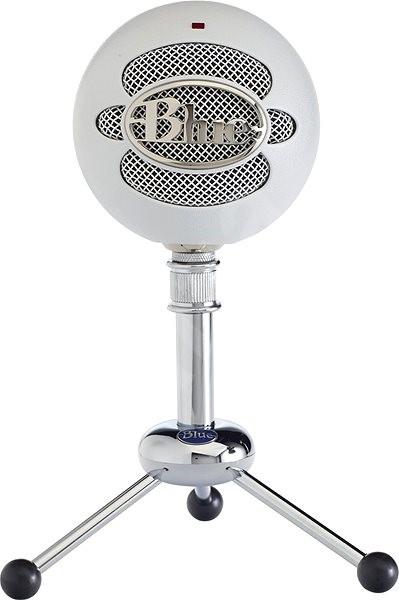 BLUE Snowball Textured White - Mikrofón
