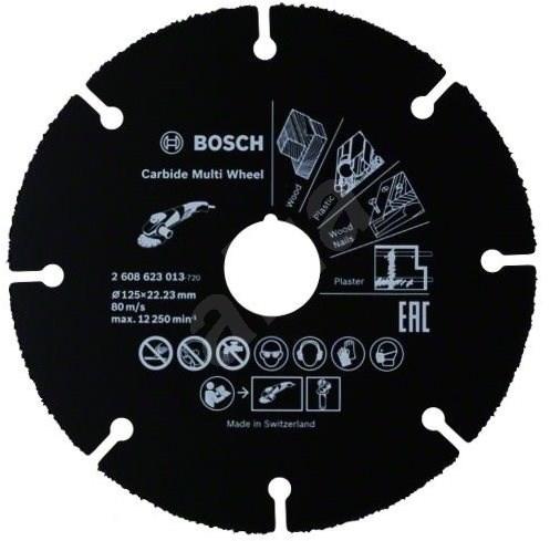 BOSCH Multi Wheel 125 mm - Kotúč