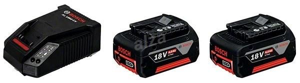 BOSCH Štartovacia súprava 2× GBA 18 V+ GAL 1860 CV Professional - Nabíjačka a náhradná batéria
