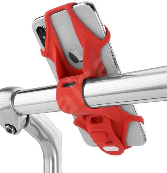 BONE Bike Tie 2 – Red - Držiak na mobil
