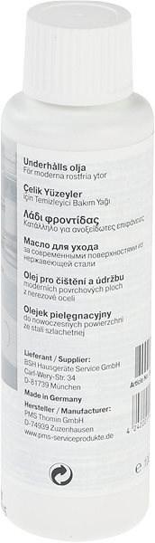 BOSCH Ošetrujúci olej na nerezové a hliníkové plochy - Čistiaci prostriedok