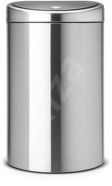Brabantia Touch Bin 40l, matná oceľ - Odpadkový kôš