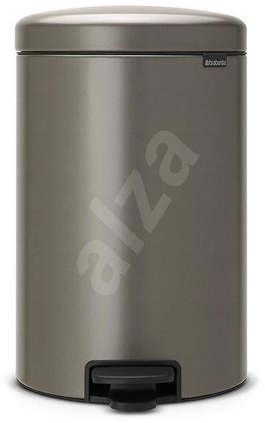 Brabantia, pedálový kôš newlcon 20 l farba platinová oceľ - Odpadkový kôš