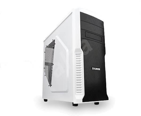 Zalman Z3 Plus biela - Počítačová skriňa