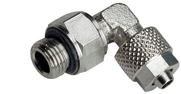 """Alphacool skrutka tvaru L 1/4"""" pre hadicu 13/10 mm (otočná) - Príslušenstvo k chladičom"""