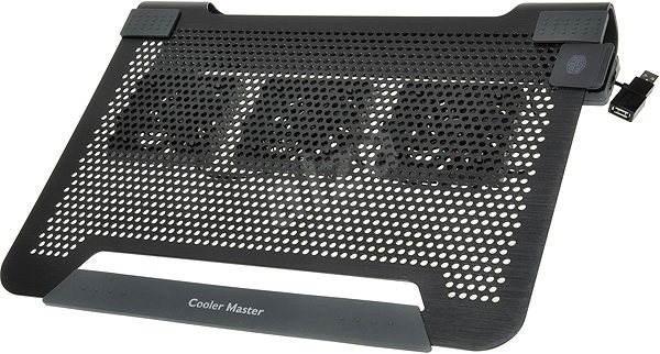 59b0d99f8 Cooler Master NotePal U3 Notebook Cooler, čierna - Chladiaca podložka