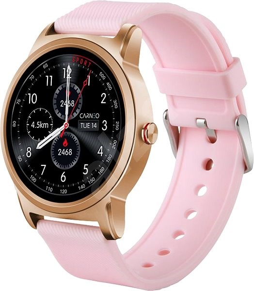 CARNEO Prime Platinum zlaté - Smart hodinky