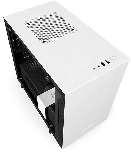 NZXT H200i matná biela - Počítačová skriňa