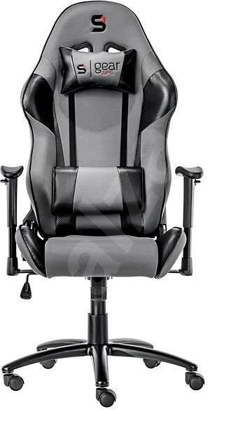 013999ea67915 SilentiumPC Gear SR300 sivá - Herná stolička