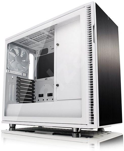1c1c54730 Fractal Design Define R6 USB-C biela Tempered Glass - Počítačová skriňa