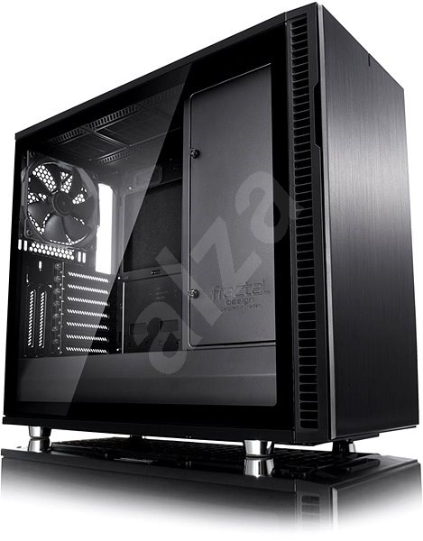 Fractal Design Define R6 Blackout Tempered Glass - Počítačová skriňa