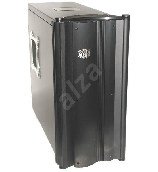"""Cooler Master Praetorian RC730 - černý (black) tower, ATX, 4x5.25"""", 2+4x3.5"""", 2x ventilátor, hliník, -"""