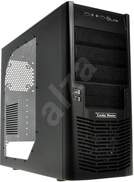 Cooler Master Elite 430 černá - Počítačová skříň