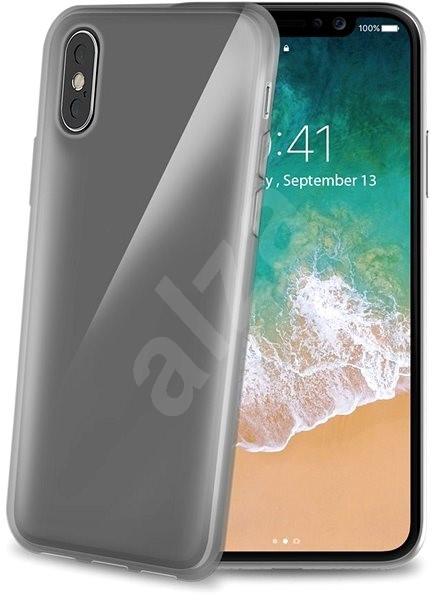 CELLY Gelskin pre Apple iPhone X čierny - Kryt na mobil 07d7d8b7868