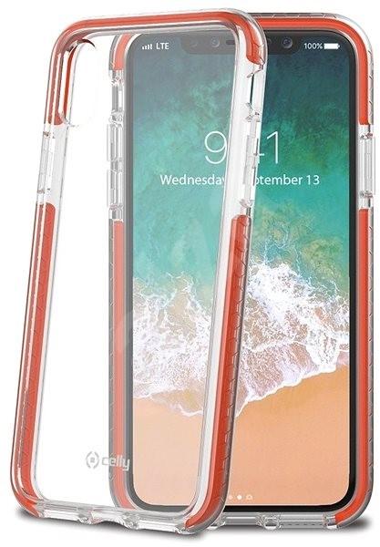 CELLY Hexagon pre Apple iPhone X oranžový - Ochranný kryt. PREDAJ SKONČIL 0590500bfdc