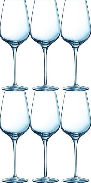 CHEF & SOMMELIER Poháre na víno 450 ml 6 ks SUBLYM - Poháre na víno