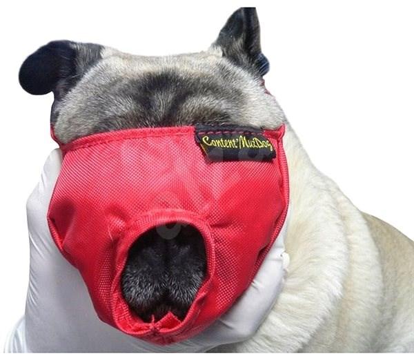 Náhubok fixačný s prikrytím očí pre psov S BUSTER - Náhubok pre psa