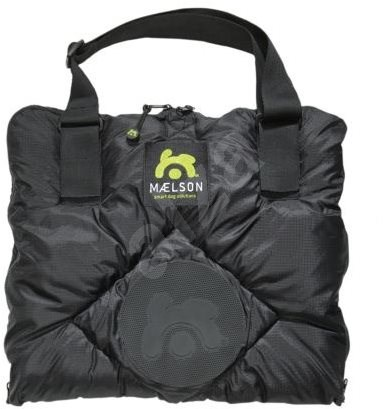 Maelson Cestovná deka –  čierno-béžová – 100 × 65 cm - Deka pre psa do auta