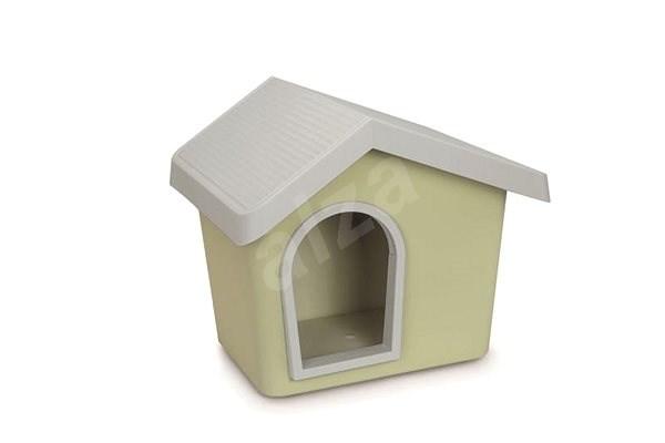 IMAC Búda pre psa plastová – zelená – D 72,2 × Š 61,8 × V 62,3 cm - Búda pre psa
