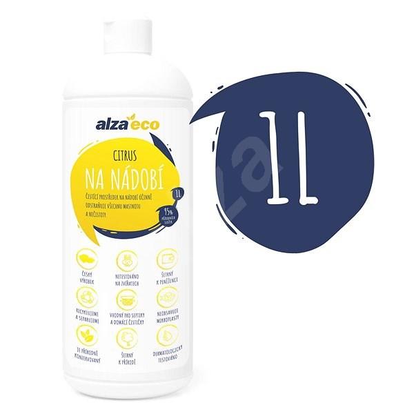 AlzaEco Citrus na riad 1 l - Ekologický čistiaci prostriedok