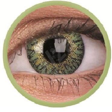 ColourVUE dioptrické TruBlends (10 šošoviek), farba: Green, dioptrie: -5.00 - Kontaktné šošovky