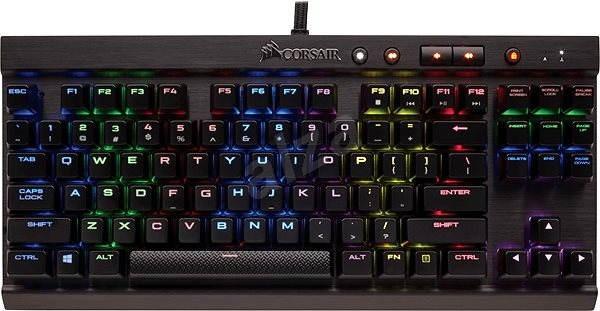 Corsair Gaming K65 Cherry MX RGB Red (US) - Herná klávesnica