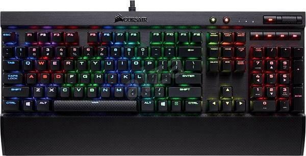 Corsair Gaming K70 LUX RGB Cherry MX Brown (EÚ) - Herná klávesnica