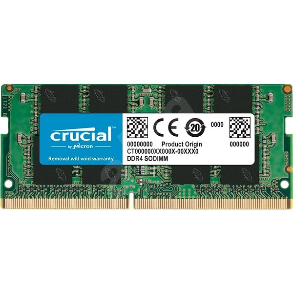 de3723315 Crucial SO-DIMM 4GB DDR4 2400MHz CL17 Single Ranked - Operačná pamäť ...