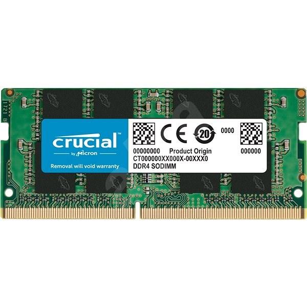 Crucial SO-DIMM 8 GB DDR4 2666 MHz CL19 Single Ranked - Operačná pamäť