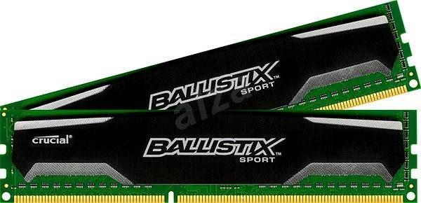 Crucial 8 GB KIT DDR3 1600 MHz CL9 Ballistix Sport - Operačná pamäť