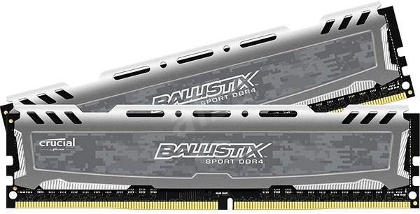 Crucial 32 GB KIT DDR4 3000 MHz CL16 Ballistix Sport LT Dual Ranked Grey - Operačná pamäť