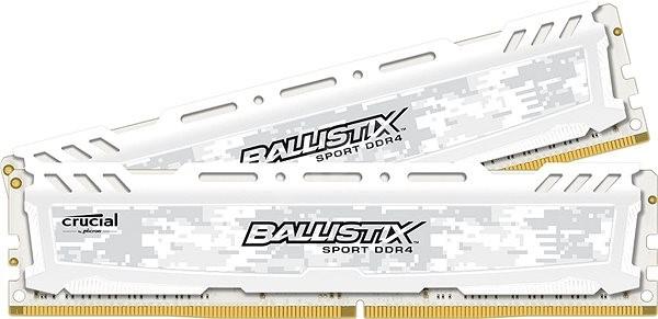 Crucial 32 GB KIT DDR4 2666 MHz CL16 Ballistix Sport LT White - Operačná pamäť