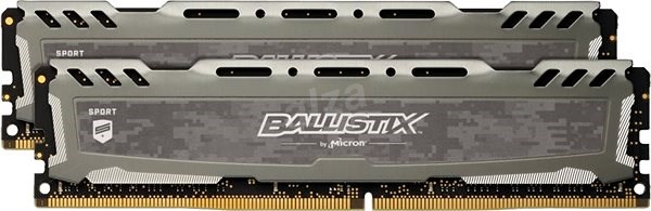 Crucial 16 GB KIT DDR4 3200 MHz CL16 Ballistix Sport LT Grey - Operačná pamäť