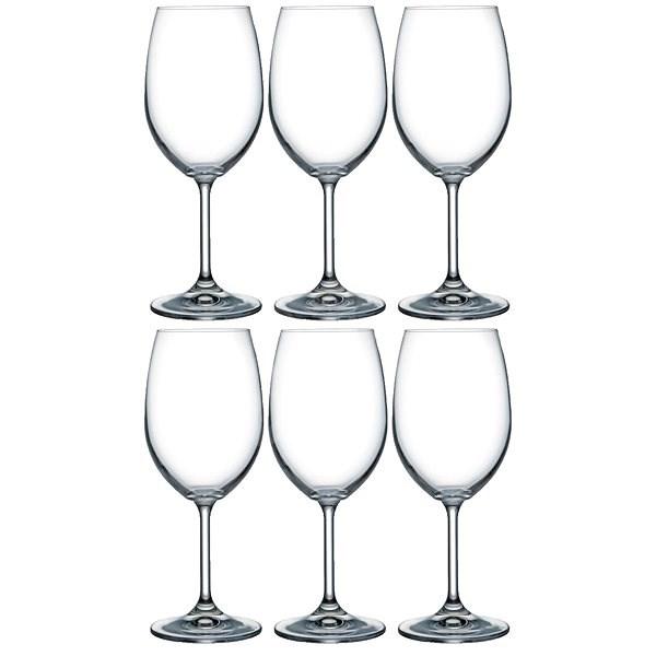 Crystalex Poháre bordeaux LARA 450 ml 6 ks - Poháre na víno