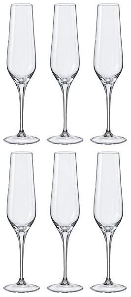 046cd6bc10e79 Crystalex Poháre na šampanské REBECCA 195 ml 6 ks - Poháre na šampanské